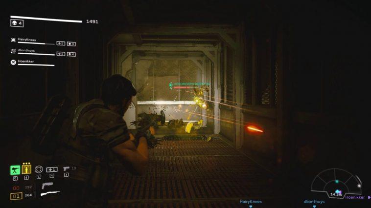 Aliens: Fireteam Elite bổ sung nhiều biến thể Xenomorph khác nhau, chẳng hạn như loại Burster phát nổ khi nó đến đủ gần đội của bạn.